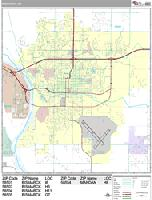 Bismarck city map
