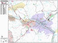 West Virginia maps from Omnimap the leading international map
