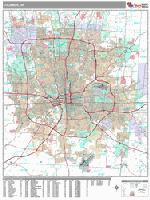 Columbus city map