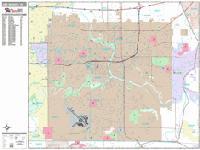 Des Moines city map