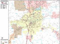 Fayetteville city map