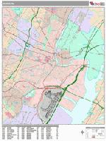 Newark city map