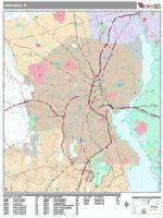 Providence city map
