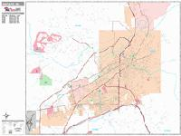 Santa Fe city map