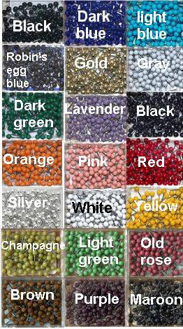 Map pin color chart
