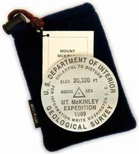 Mt. McKinley paperweight