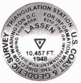 Mt. Lassen benchmark magnet