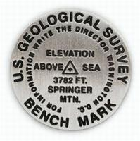 Springer Mountain benchmark lapel pin