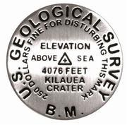 Kilauea lapel pin