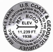 Mt. Hood lapel pin