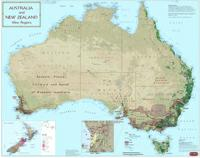 Australia and New Zealand wine map