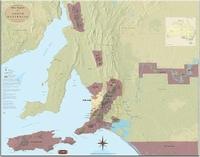 Adelaide wine map