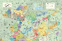 Austria and Hungary wine map