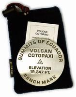 Cotopaxi climbing map