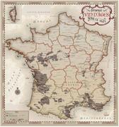 France Wine of Ages map