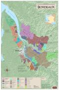 Burgundy wine map