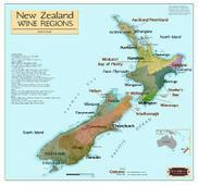 New Zealand wine map