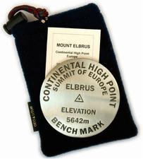 Mt. Elbrus paperweight