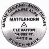 Matterhorn lapel pin