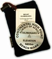 Mt. Kilimanjaro paperweight