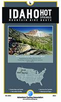 Idaho Hot Springs Mountain Bike map