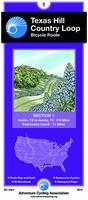 Texas Hill Country route map