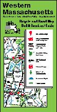 Western Massachusetts bicycling map