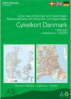 Denmark cycling map