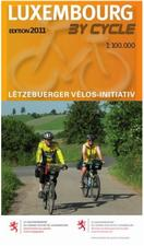 Luxembourg cycling Map
