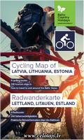 Baltics cycling map