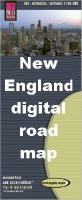 New England digital map