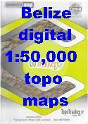 Belize digital maps