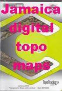 Jamaica digital topographic maps