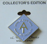 Appalachian Trail logo pin