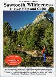Sawtooth Wilderness hiking map