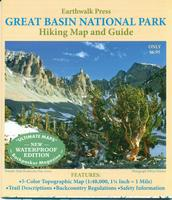 Great Basin National Park hiking map