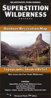 Superstition Wilderness Outdoor Recreation Map