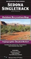 Sedona Single-track trail map