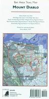 Mount Diablo Hiking Map