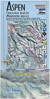 Aspen and Crested Butte Hiking Map
