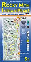 Rocky Mountain Hiking Map