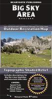Big Sky Area Outdoor Recreation Map