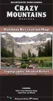 Crazy Mountains Outdoor Recreation Map