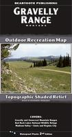 Gravelly Range hiking map