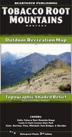 Tobacco Root Mountains Outdoor Recreation Map