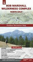 Bob Marshall Wilderness North hiking map
