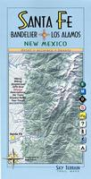 Santa Fe and Bandelier Hiking Map