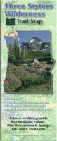 Three Sisters Wilderness Trail map