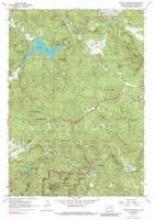 Mt. Rushmore hiking map