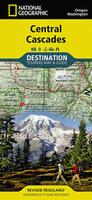 Central Cascade Mountains road map